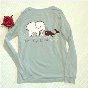 🐘 ivory ella kids Long Sleeve Shirt 🐘